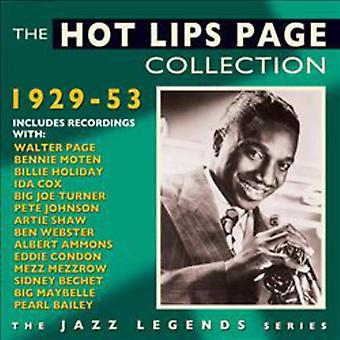 Hot Lips Page - Hot Lips Page-Collection 1929-53 [CD] USA import