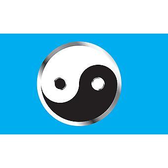 5ft x 3ft Flag - Yin Yang