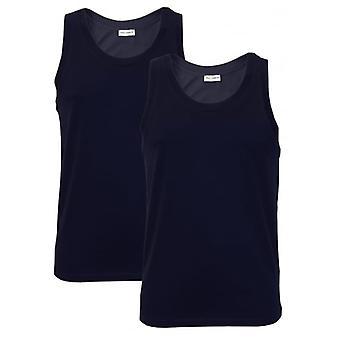 Dolce & Gabbana 2-Pack-giorno-Canotta Vest Top, Navy