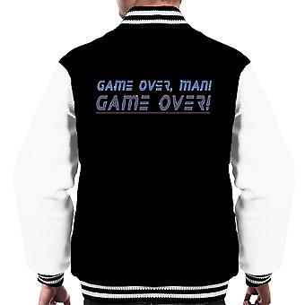 Game Over Man Bill Paxton Aliens Men's Varsity Jacket