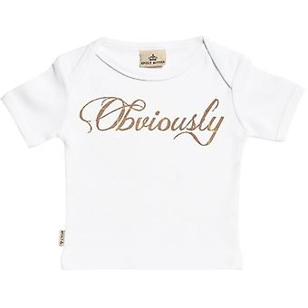 Spoilt Rotten Obviously Short Sleeve Baby T-Shirt