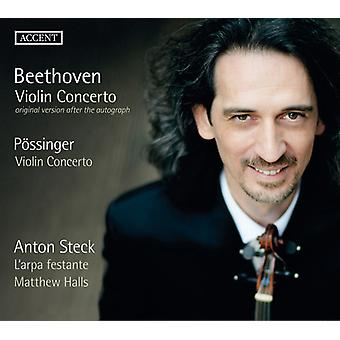 Beethoven / Fossinger / Steck / L'Arpa Festante - Beethoven & Possinger: Violinkonzerte [CD] USA Import