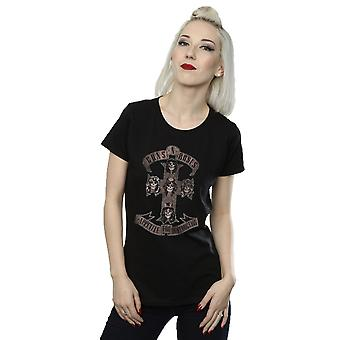 Guns N Roses Women's Appetite for Destruction Sepia T-Shirt