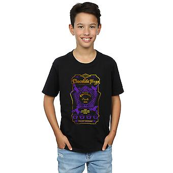 Harry Potter Boys Chocolate Frogs Coloured Label T-Shirt