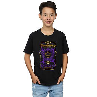 הארי פוטר בנים צפרדעים שוקולד בצבע חולצת טריקו