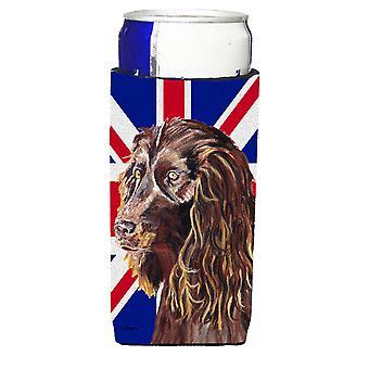 Boykin Spaniel con Engish Union Jack bandiera britannica Ultra bevanda isolanti per