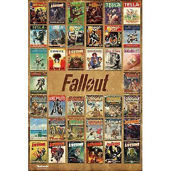 Fallout 4 - Magazine dekt Poster Poster afdrukken
