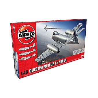 Airfix A09184 Gloster Meteor F8, Războiul Coreean 1:48 Scale Model Kit