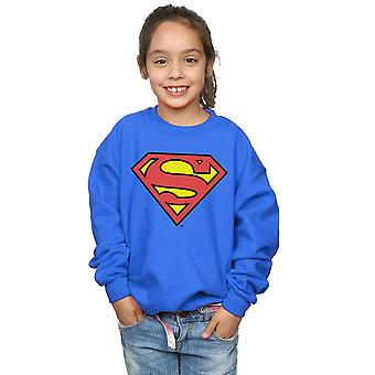 DC Comics Girls Superman Logo Sweatshirt