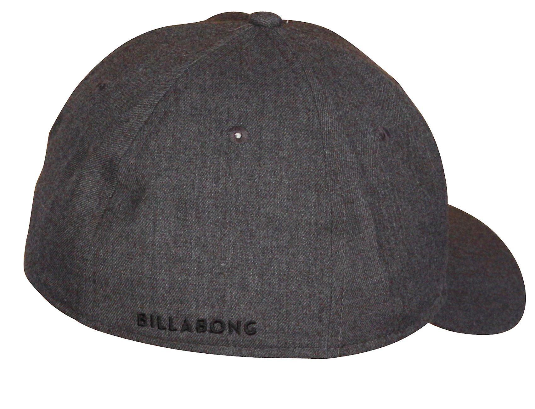 Billabong Stretch Curve Cap ~ All Day Heather grey