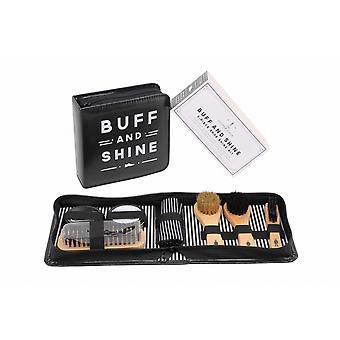 CGB Giftware Dapper Chap Buff Ve Shine Ayakkabı Temizleme Seti