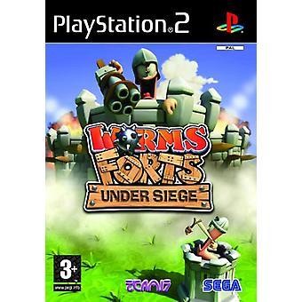 Worms Forts Under Siege (PS2) - Neu