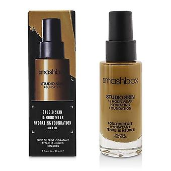 Smashbox Studio piel 15 horas usar Hydrating Foundation - # 3.35 Golden Beige mediano - 30ml / 1oz