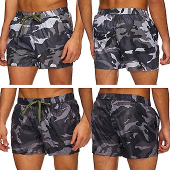 Mens Skater swimming Boardshorts Shorts Swimshorts Artwork Print Pants