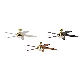 Ceiling Fan Melton Brass with light and remote control