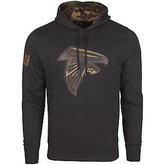 Ny æra Fleece-hettejakken - NFL Atlanta Falcons svart / camo
