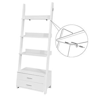 SoBuy FRG230-W-Home Storage Regal Rack mit Schubladen, weiß