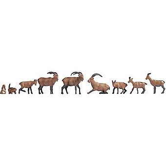 NOCH 15742 H0 figuras animais alpinos