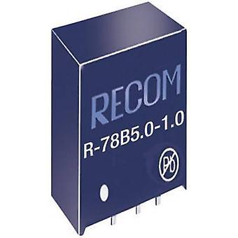 REKOM R-78B5.0-1.0 DC/DC omvandlare SIP3