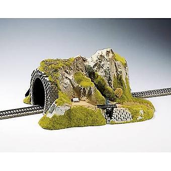 NOCH 02200 H0 tunnel 1-rail gemonteerd, recht