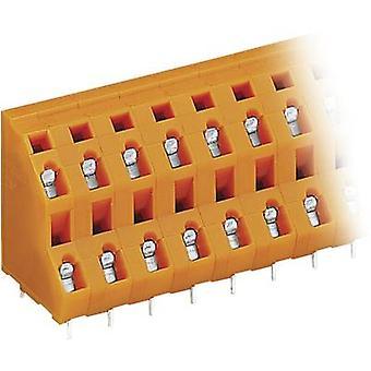 WAGO 736-603 2-warstwowy terminal 2,50 mm² Liczba pinów 6 Orange 1 szt.