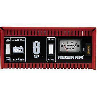 Absaar 8A 6/12V 77911 77911 ipari töltő 6 V, 12 V 8 A