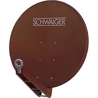 Schwaiger SPI085PR Satellite Dish, , Brick red