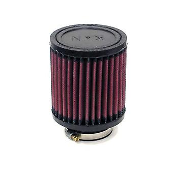 K&N RA-0500 Universal Clamp-On Air Filter: Round Straight; 2.063 in (52 mm) Flange ID; 4 in (102 mm) Height; 3.5 in (89