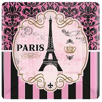 Place sur la plaque de le Paris Tour Eiffel de Paryteller 8 PCs.