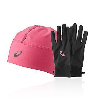 Asics Performance Pack - Czapka zimowa Plus rękawice