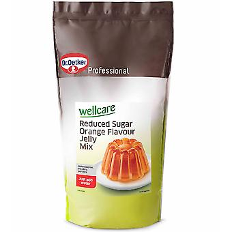 Dr Oetker Wellcare Reduced Sugar Orange Jelly Mix