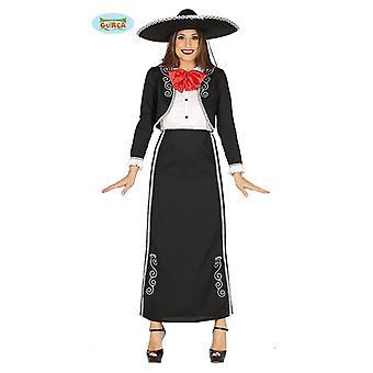 Guirca kostuum Mariachi Mexico vrouw kostuum