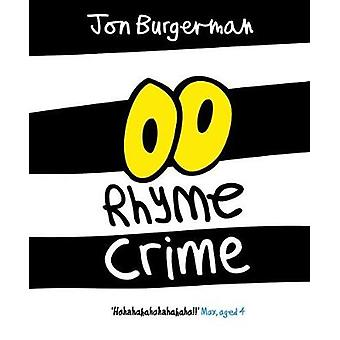 Rhyme Crime by Jon Burgerman - 9780192749505 Book