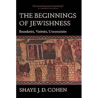 Os primórdios do judaísmo - limites - variedades - incertezas