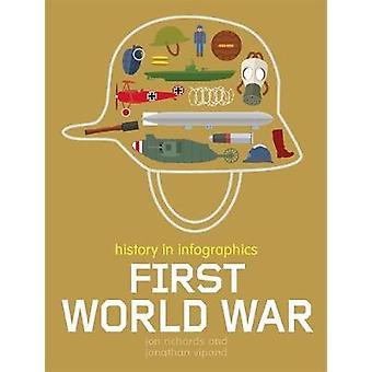 Historia i Infographics - första världskriget - 9781526306067 boka