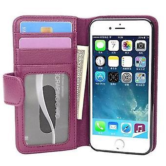Futerał Cadorabo na etui iPhone 7 / 7S / 8 case cover - etui na telefon z magnetycznym zapięciem i 3 przegródkami na karty - Etui ochronne Obudowa Book Folding Style