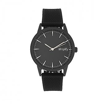 Simplify The 5200 Strap Watch - Black