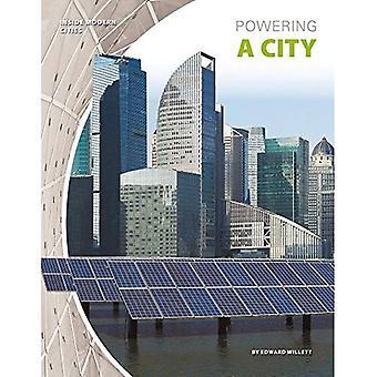 Het aandrijven van een stad (binnenkant moderne steden)