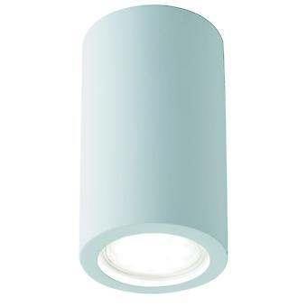 Applique in gesso intonaco bianco verniciabile cilindro - Searchlight 9273