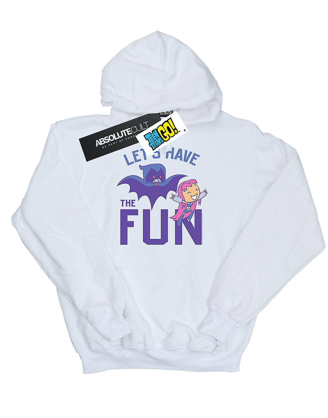 DC Comics Girls Teen Titans Go Let's Have The Fun Hoodie
