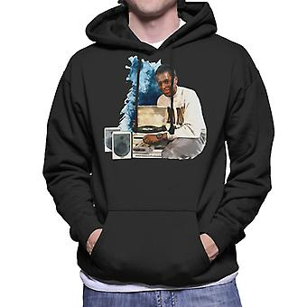 TV Times Andi Peters With A HiFi 1988 Men's Hooded Sweatshirt