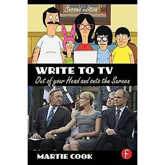 Skriva till TV ut huvudet och på skärmen av Cook & Martie