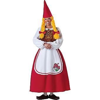 Garden Gnome Female Adult Costume