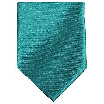 Knightsbridge Neckwear slank Polyester uavgjort - Blågrønn