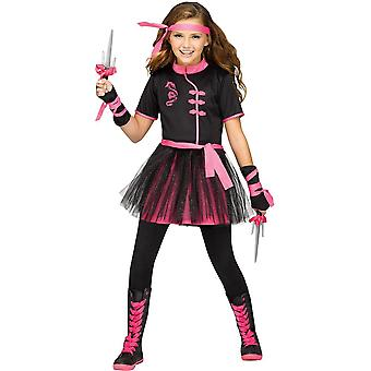 Miss Ninja Costume for Teenage Girl