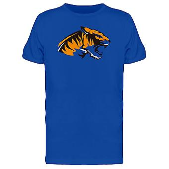 Tiger Sideview Art Tee Men's -Image by Shutterstock