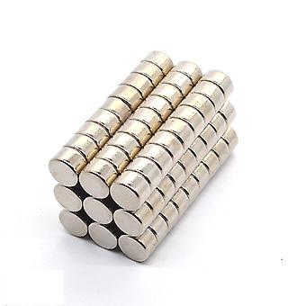 Neodymium magnet 8 x 5 mm washer N35 - 50 pieces