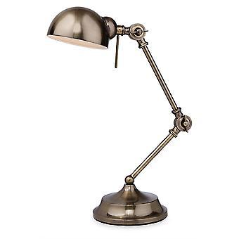 Firstlight-1 lys bordlampe antikk messing-2305AB