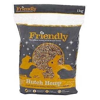 Friendly Hutch hamppu pieni PET Pedding