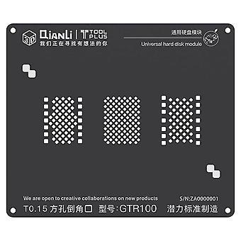 QianLi 3D BGA Stencil Template - Universal Hard Disk Module - GTR100